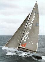 Alfa Romeo racing yacht